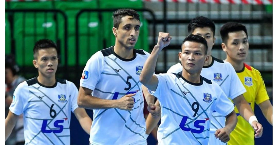 ستاره ایرانی و یارانش به مقام سوم جام باشگاه های اسیا رسیدن