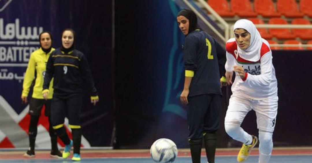 داربی خوزستان در ایستگاه سوم لیگ برتر فوتسال بانوان