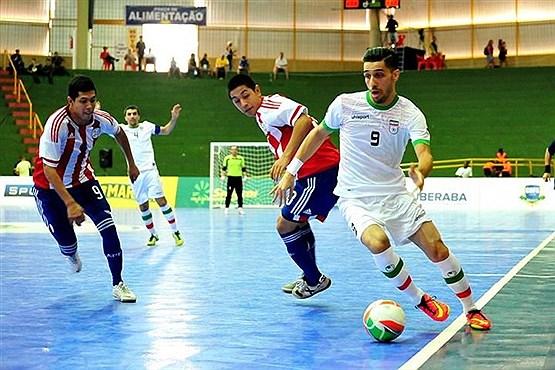بازی نهایی تیم ایران
